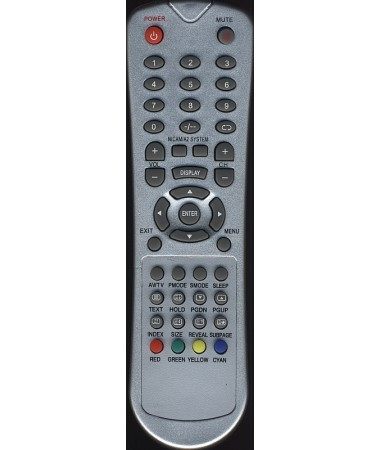 Telecomanda TV LCD , KZG108 , ZANDER NICAM/A2 SISTEM , KZG-108